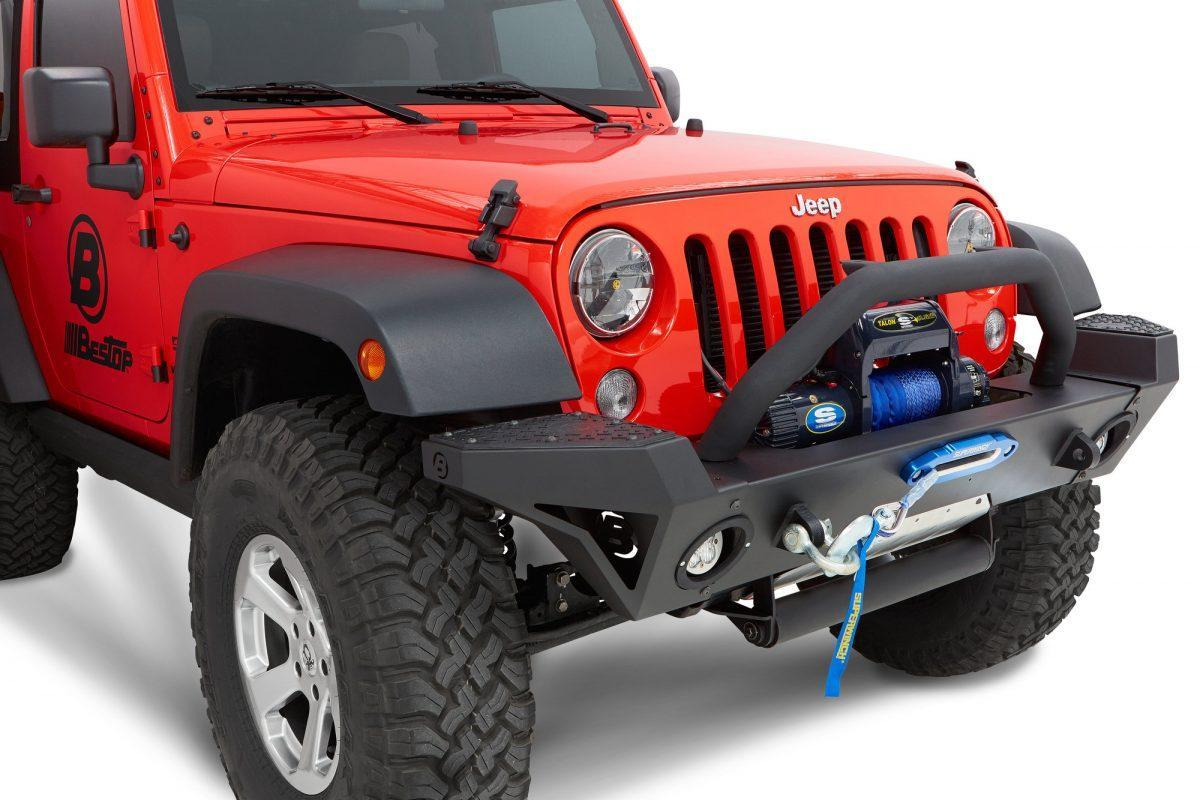 Jeep Wrangler Parachoque Frontal