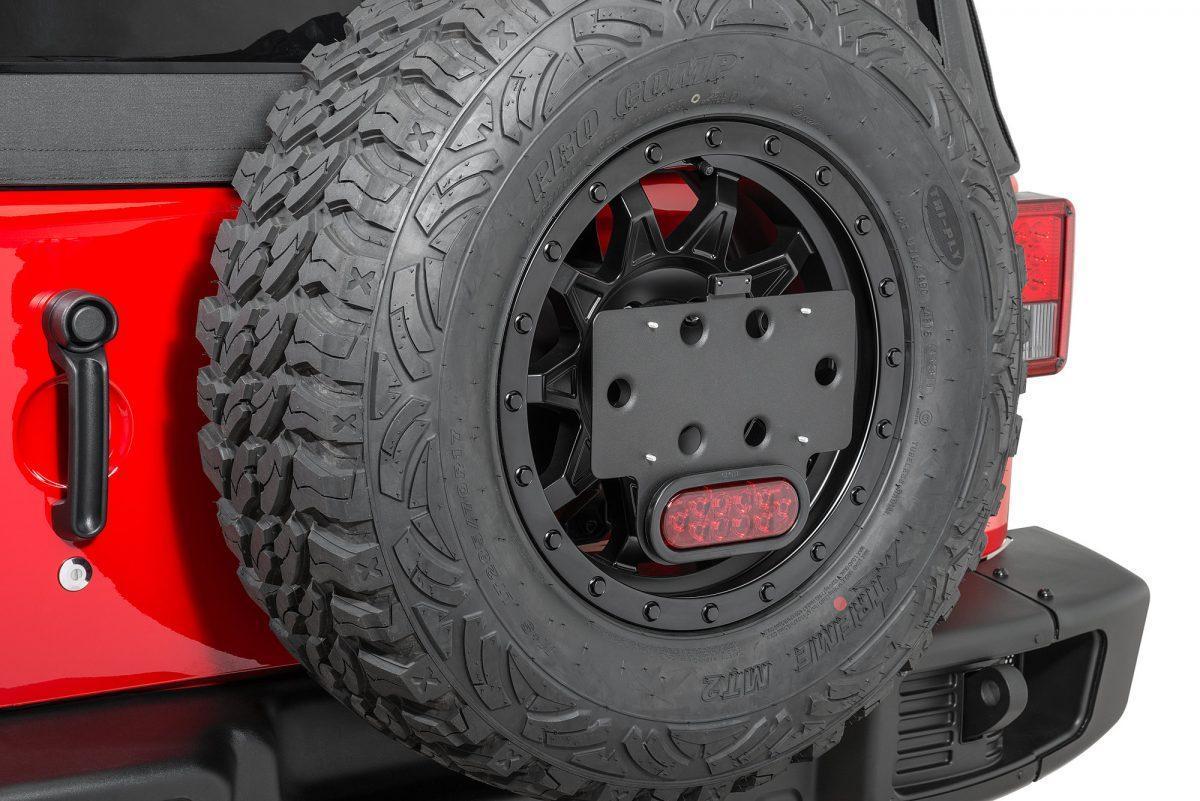Jeep Wrangler porta patente